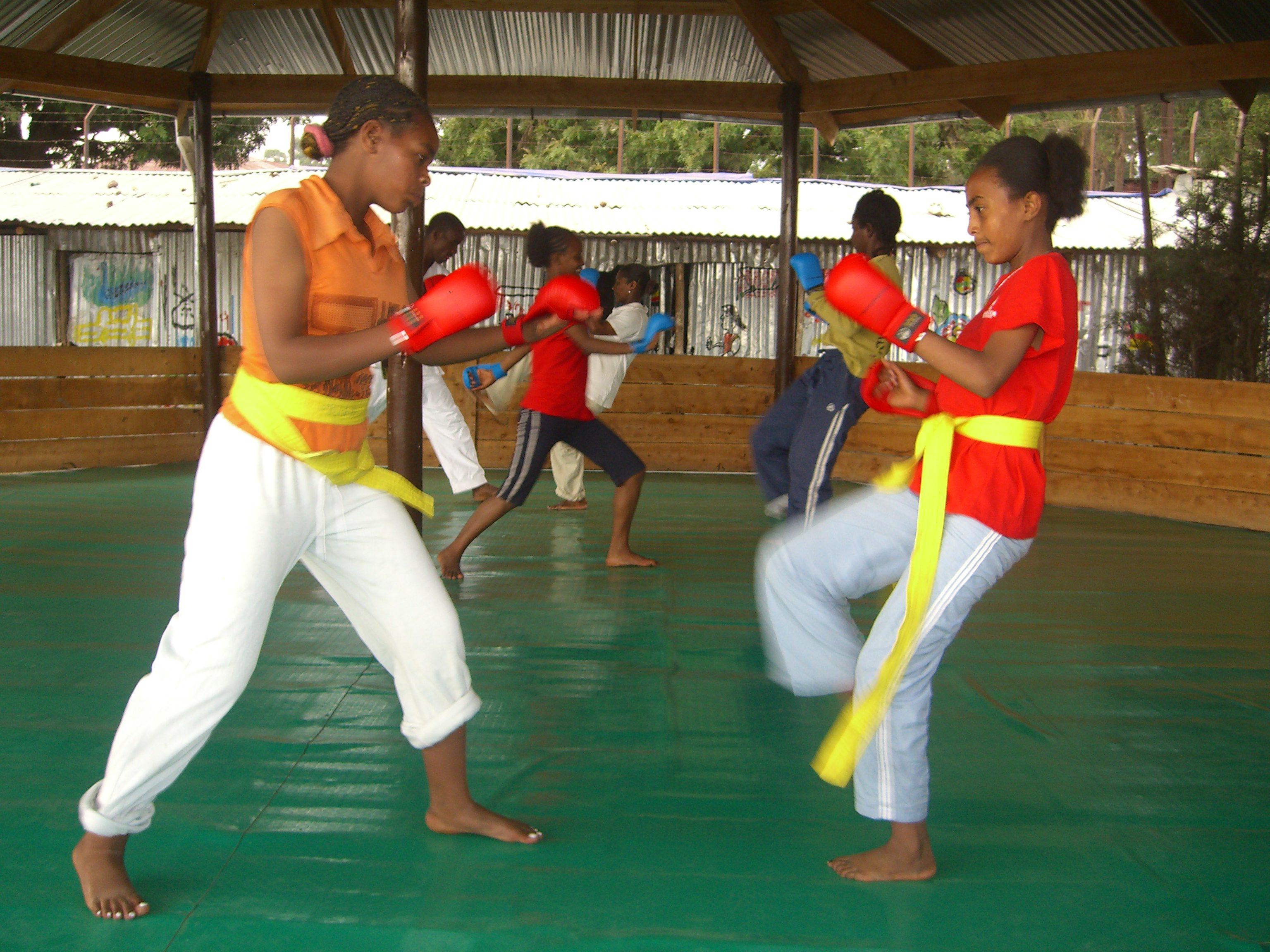 Martial Art Class 2008