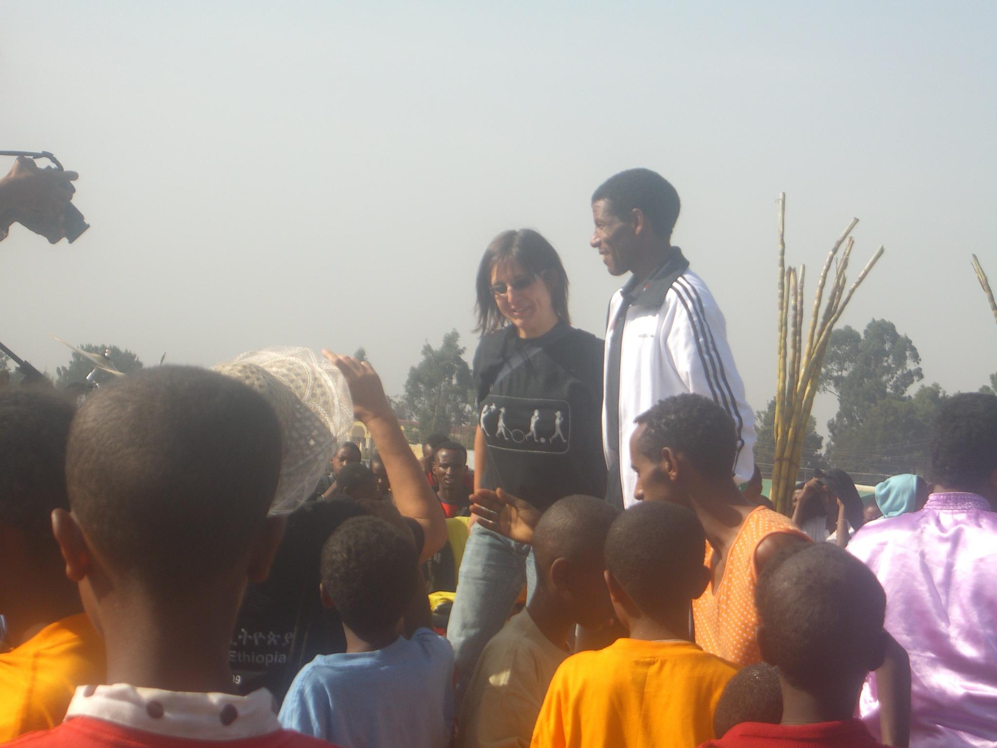 Gigathlon: Athlete Haile Gebresilasse, 2009