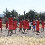 Qigong and Karate performance