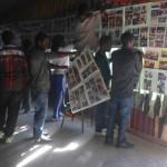 Preparation of the venue