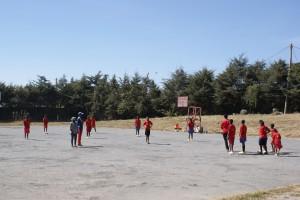 KRAFT-Lektion auf dem Trainingsgelände in Addis Abeba (Äthiopien)
