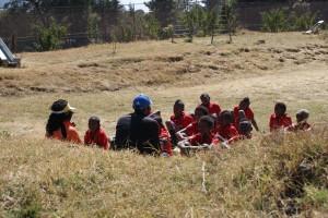 Gruppengespräch nach einer KRAFT-Lektion