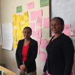 The program managers of STB-Ethiopia (f.l.t.r): Lilyana Ahmed and Fikirte Shimelis