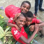 Children at STB-Ethiopia, who came from the south to the capital in search of a better life