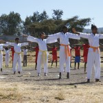 Qigong and Karate performance