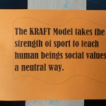 Idea of the KRAFT-model, the sport-pedagogical tool of STB