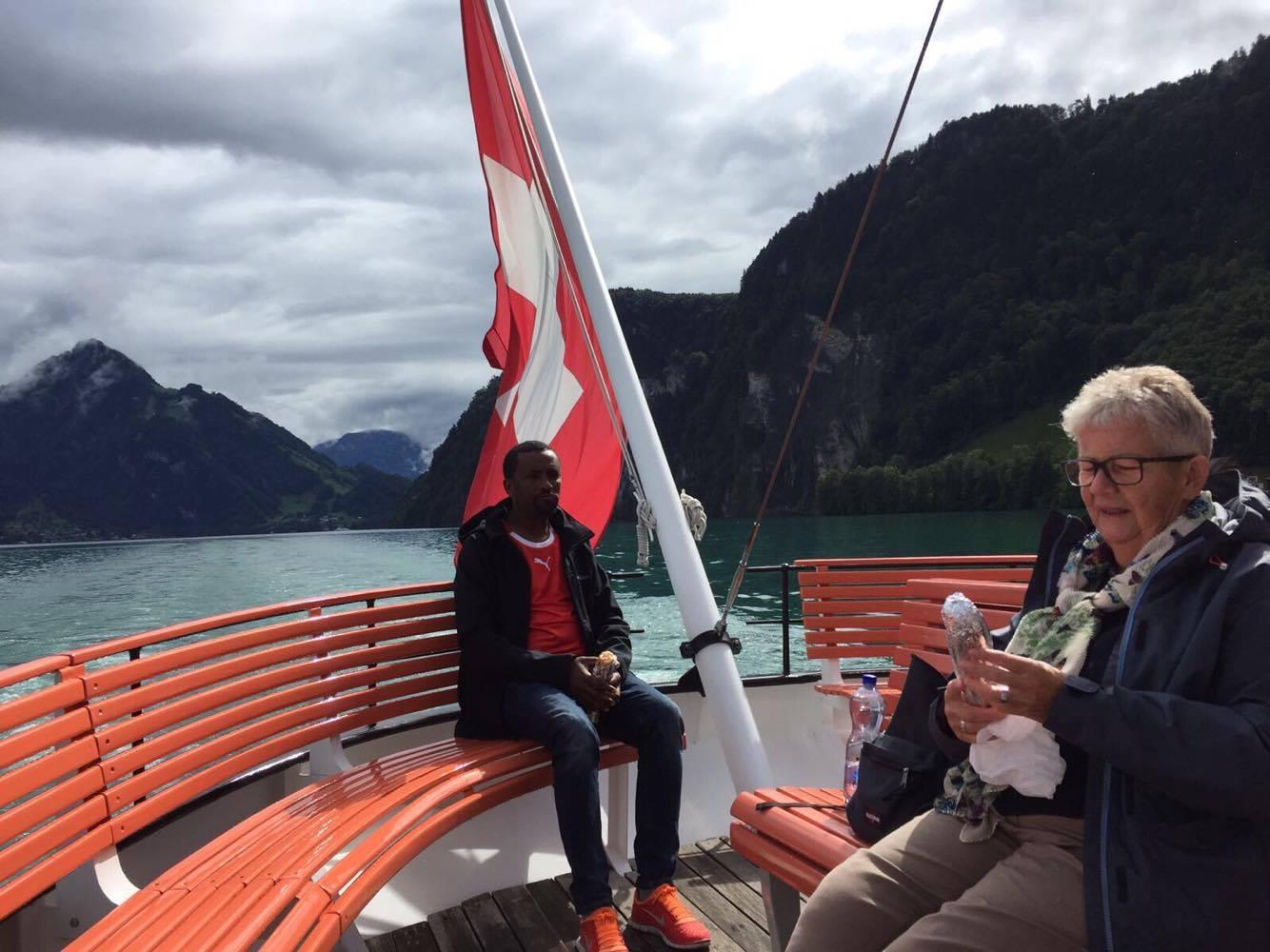 Schifffahrt auf dem  Vierwaldstättersee